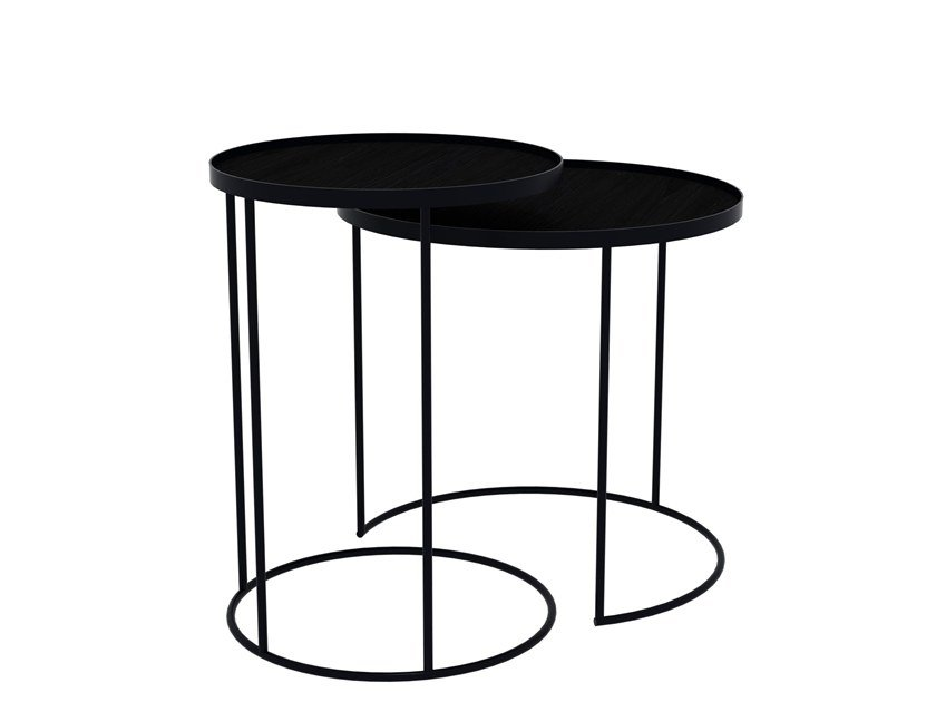 Round coffee table with tray ROUND TRAY TABLES - SET by Notre Monde  sc 1 st  Archiproducts & Round coffee table with tray ROUND TRAY TABLES - SET By Notre Monde ...