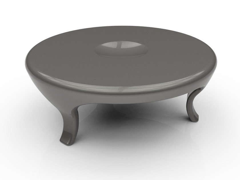 Round Adamantx® coffee table for living room ROUND by ZAD ITALY