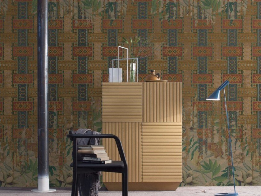 Motif panoramic wallpaper ROUSSEAU by Inkiostro Bianco