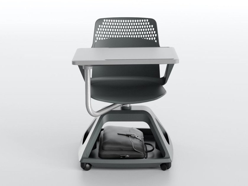 Polypropylene training chair with writing tablet ROVER EVO by IBEBI