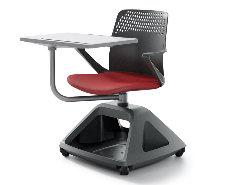 Polypropylene training chair with writing tablet ROVER EVO PT by IBEBI