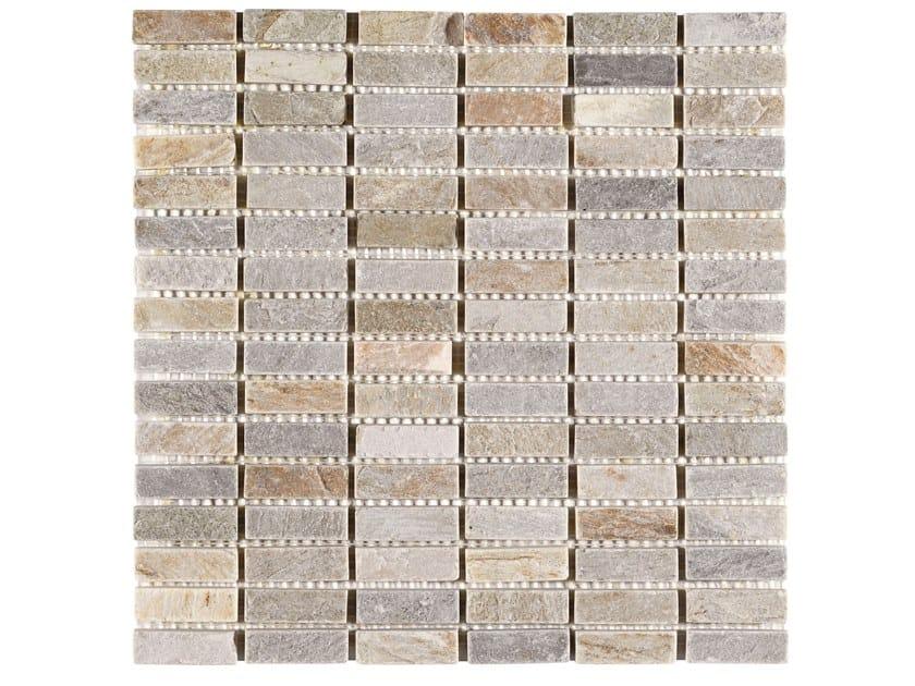 Quartzite mosaic ROVERETO by BOXER