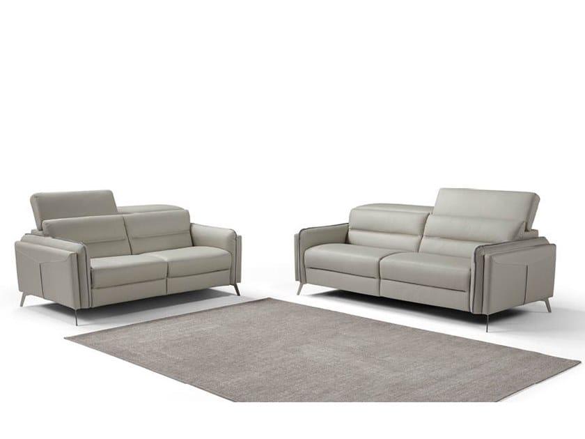 Recliner sofa ROY by Max Divani