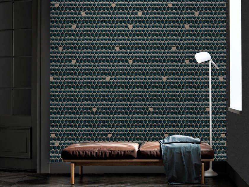 Motif vinyl wallpaper ROYAL ACORN by Baboon