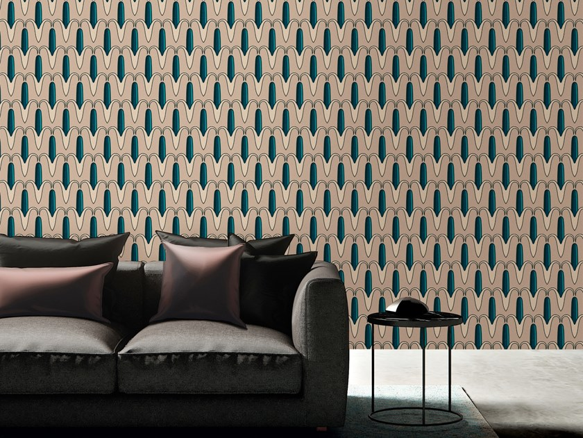 Motif vinyl wallpaper ROYAL BANANA by Baboon