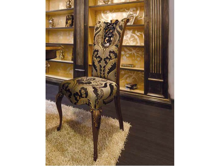 Upholstered high-back chair ROYAL | Chair by Arvestyle
