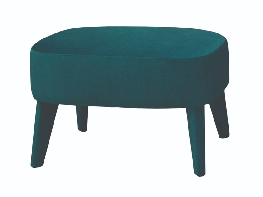 Fabric pouf / footstool ROYAL | Footstool by Conceito Casa