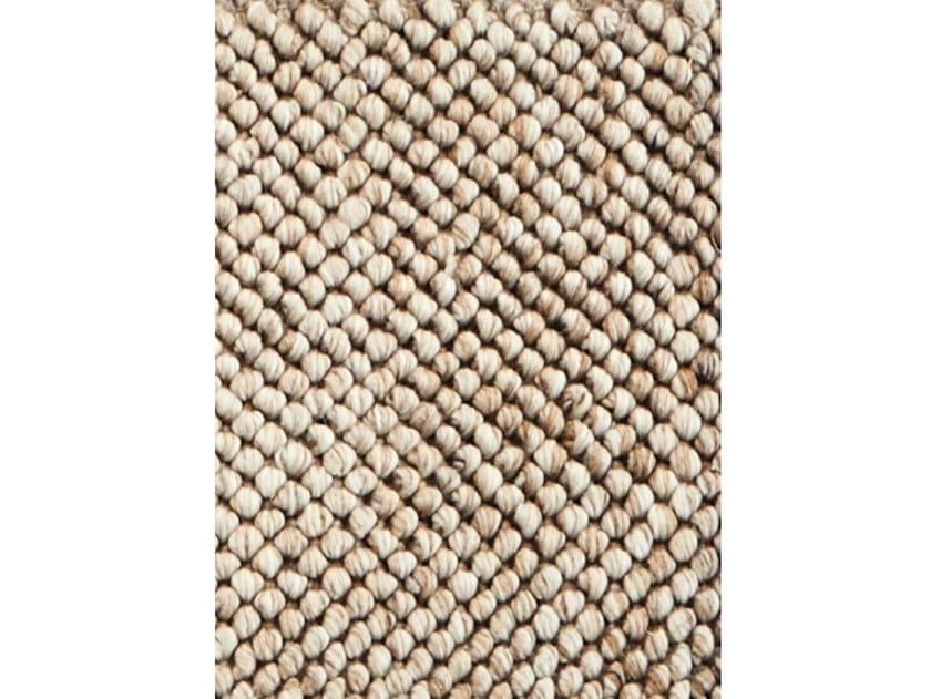 Handmade rectangular polyester and cotton rug ROYAL by Kuatro