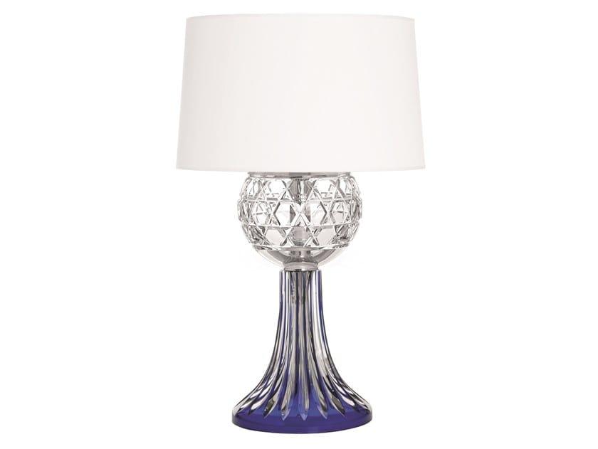 Crystal table lamp ROYAL   Table lamp by Saint-Louis