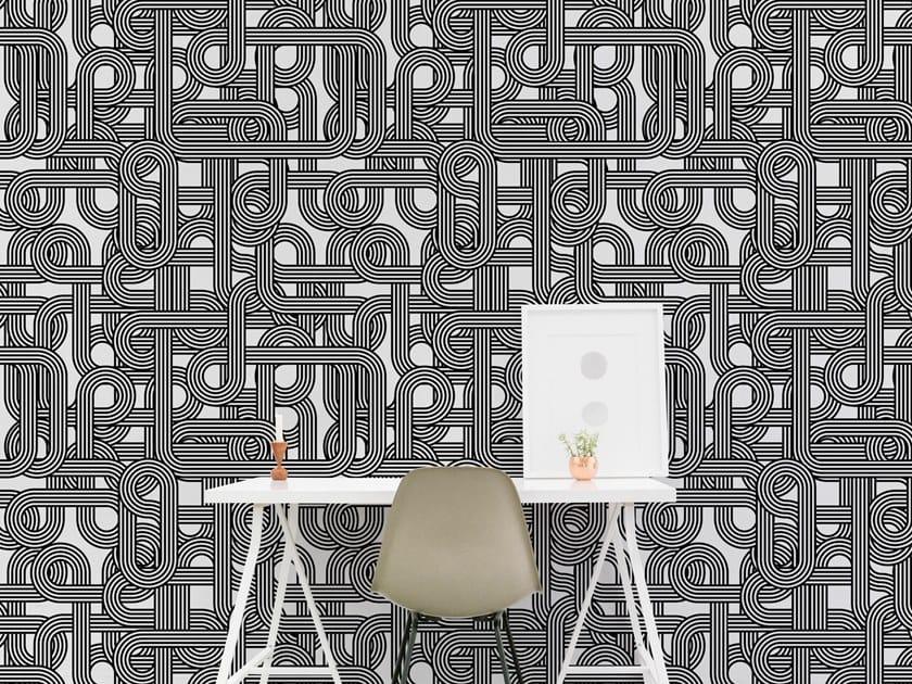 Motif vinyl wallpaper ROYAL MAZE by Baboon
