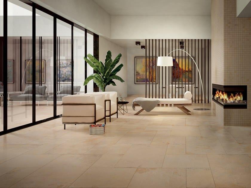 Pavimento/rivestimento in gres porcellanato effetto pietra ROYAL STONE GOLD by La Fabbrica