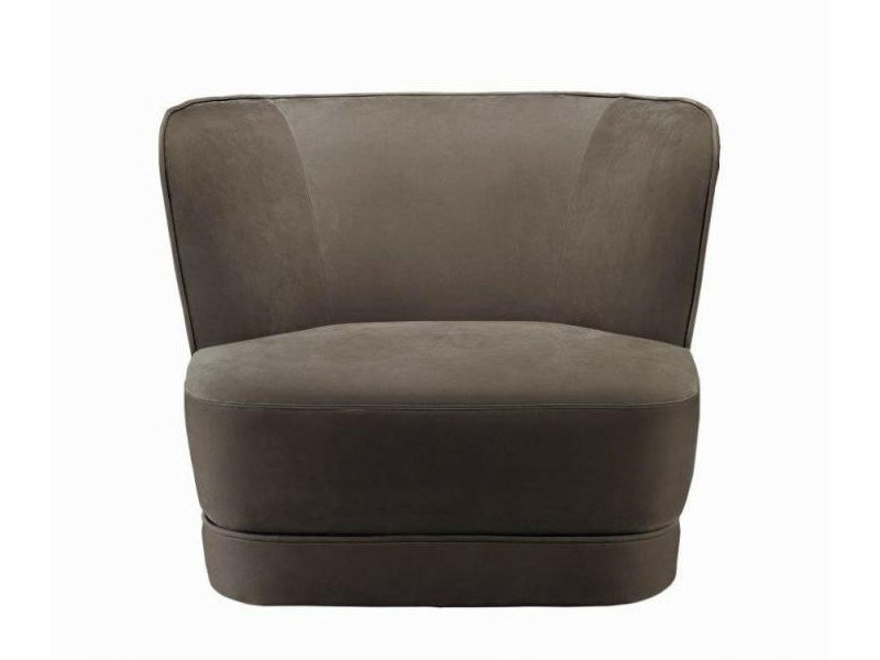 Fabric armchair with removable cover ROYALE | Armchair by Casamilano