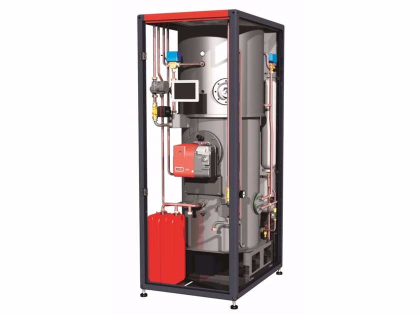 Heating unit and burner RSM by RIELLO