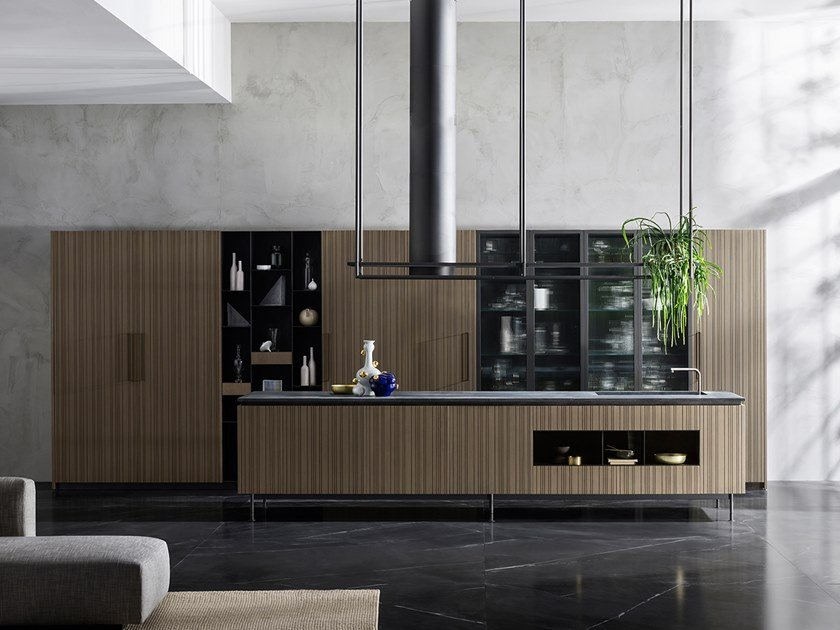 Kitchen with island RUA By TM Italia Cucine design ruadelpapavero