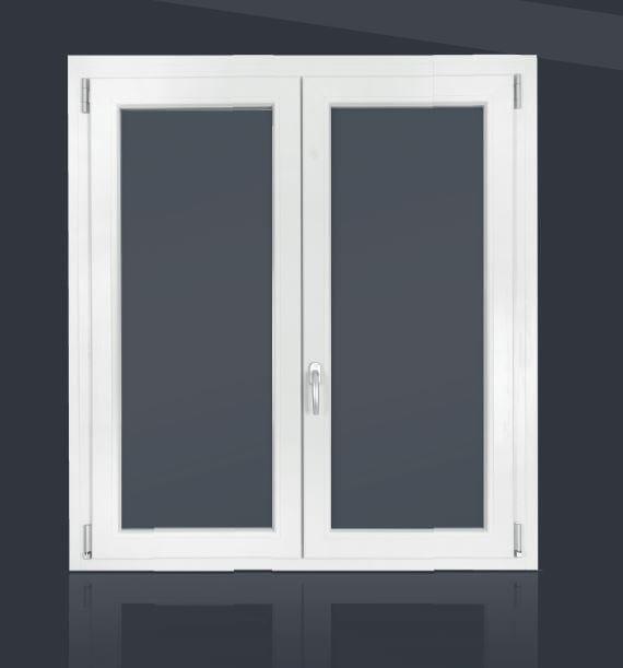 PVC casement window RUBINO | Casement window by Cos.Met.