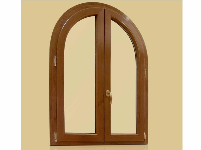 PVC arched window RUBINO | Arched window by Cos.Met.