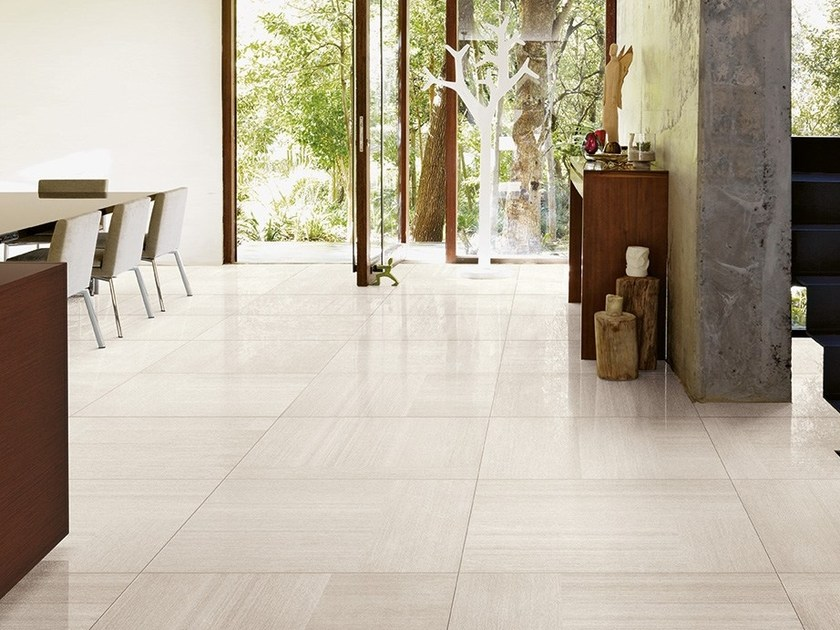 Porcelain stoneware wall/floor tiles with textile effect RUG HOME POLAR by CERAMICA FONDOVALLE