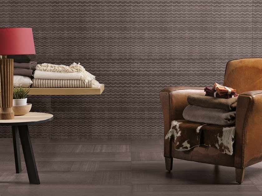 Porcelain stoneware wall/floor tiles with textile effect RUG HOME SHARK 3D by CERAMICA FONDOVALLE