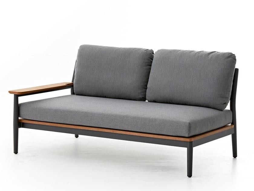 2 seater garden sofa RUGBY | 2 seater garden sofa by Kun Design