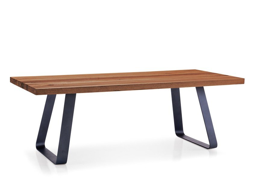 Rectangular wooden dining table RUNNER | Dining table by Oliver B.