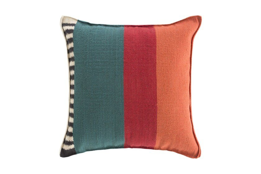 Square wool cushion RUSTIC CHIC | Square cushion by GAN