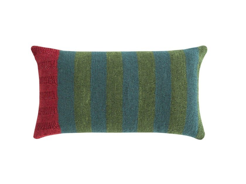 Rectangular wool cushion RUSTIC CHIC | Rectangular cushion by GAN
