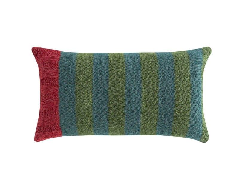 Cuscino rettangolare in lana RUSTIC CHIC | Cuscino rettangolare by GAN