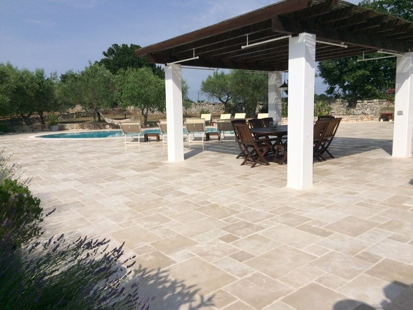 Indoor/outdoor wall/floor tiles RUSTICA by Naturalmente Puglia