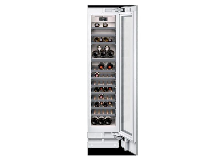 Cantinetta frigo da incasso con anta in vetro RW414365 | Cantinetta frigo by Gaggenau