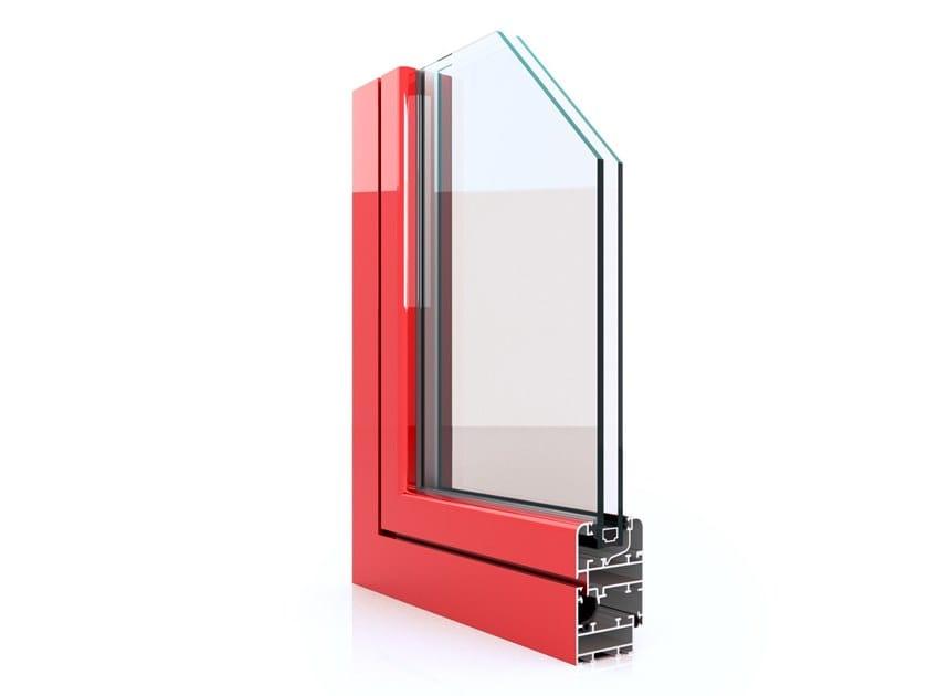 Aluminium casement window RX 450 by Twin Systems