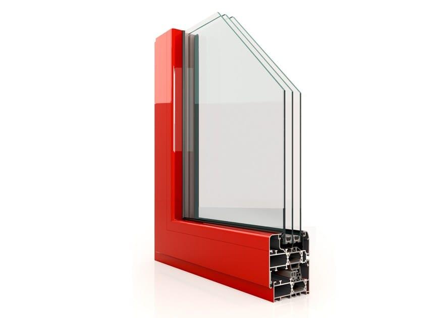 Aluminium casement window RX 700 by Twin Systems