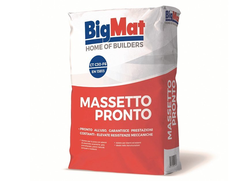 Massetto pronto Massetto pronto by BigMat
