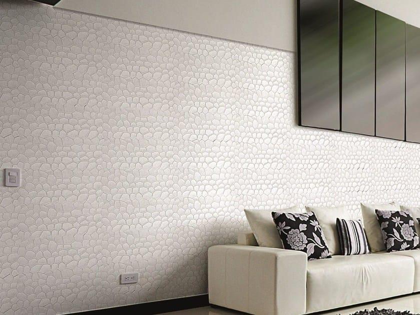 Modular indoor/outdoor reconstructed stone 3D Wall Cladding DAKAR by BIOPIETRA®