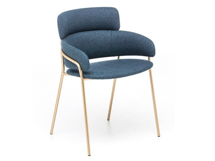 CONCHA | Chair With Armrests Concha Collection By Potocco Design Stephan  Veit