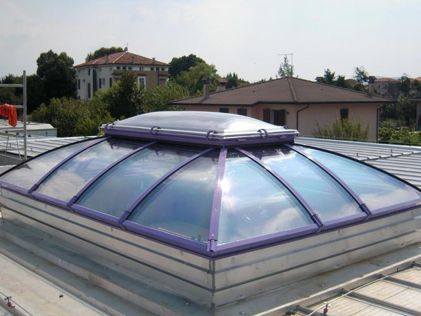 Dome rooflight Ribbed Pagodas by CAODURO