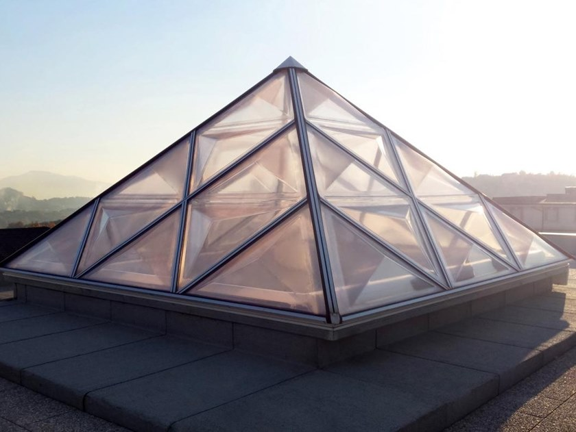 Dome rooflight Ribbed Pyramids by CAODURO