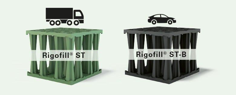 Drainage channel and part RIGOFILL ST by POZZOLI DEPURAZIONE