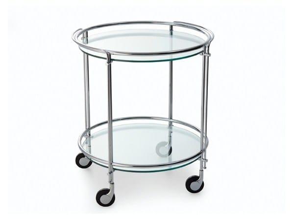 Aluminium food trolley RIKI by Gallotti&Radice