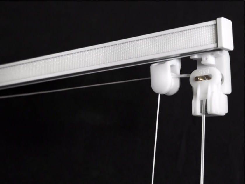 Aluminium roman blinds headrail Roman blinds headrail by FRIGERIO