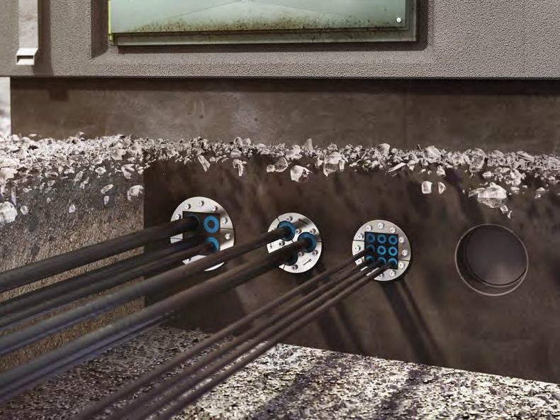 Cable entry seals for underground applications ROXTEC UG™ by Roxtec Italia