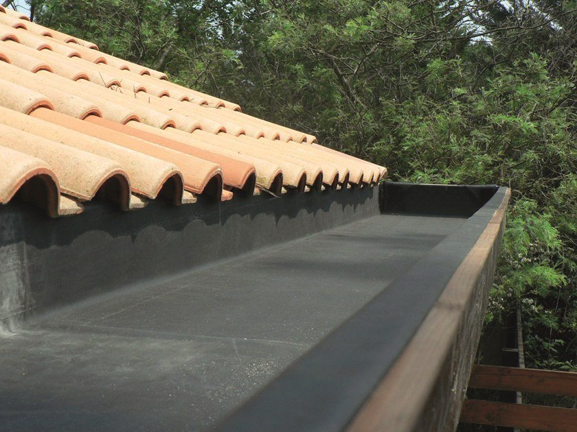 Prefabricated polymer membrane FIRESTONE  RUBBERCOVER™ EPDM by Firestone Building Products