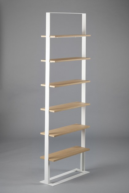Attractive Double Sided Freestanding Wooden Bookshelf SÉVERIN 2 | Bookcase By Alex De  Rouvray Awesome Ideas