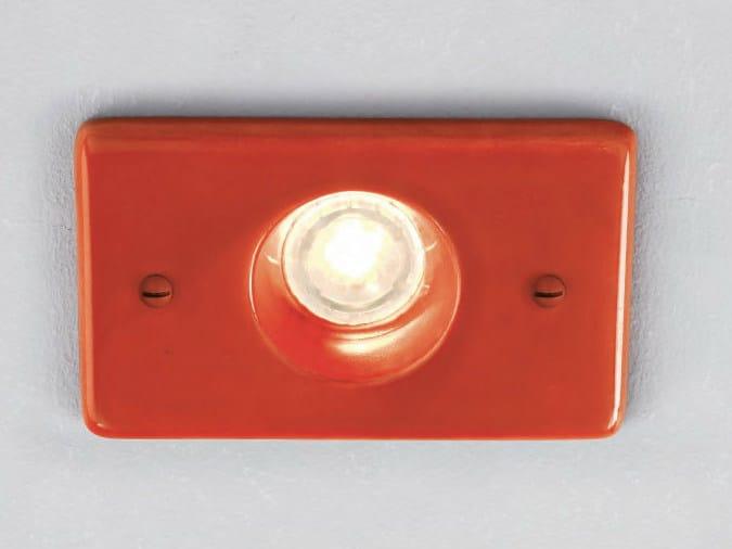 LED ceramic steplight S 1 by Aldo Bernardi