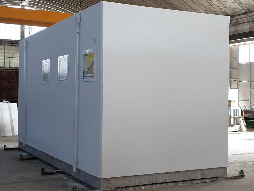 Reinforced concrete Prefabricated toilet S-14(01) | Prefabricated toilet by Emmecinque Monoblocchi