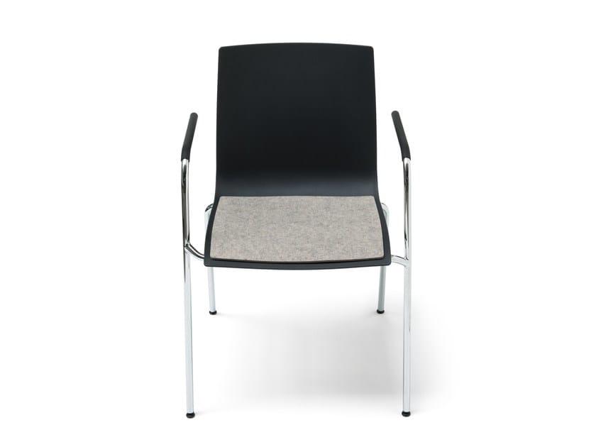 Felt chair cushion S 161 by HEY-SIGN