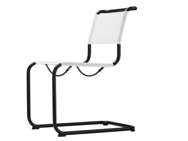 Sedia a sbalzo imbottita S 33 N Thonet All Seasons by THONET