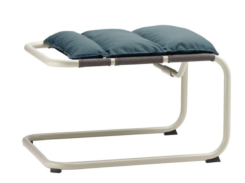 Fabric footstool S 35 NH Thonet All Seasons cushion by THONET