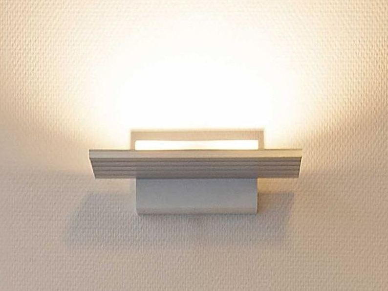 Lampada da parete a LED a luce indiretta in alluminio con dimmer S.O.L. | Lampada da parete by FERROLIGHT DESIGN