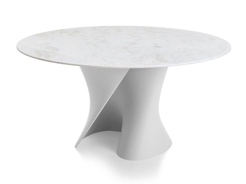 Table ronde en marbre S TABLE By MDF Italia design Xavier Lust