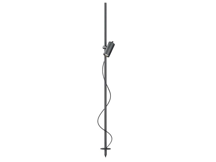 Proiettore a LED orientabile in alluminio con picchetto S1G by Buzzi & Buzzi